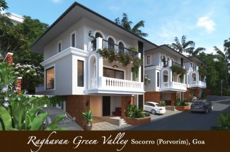 Raghavan Green Valley 3BHK Row Villas in Socorro Porvorim North Goa